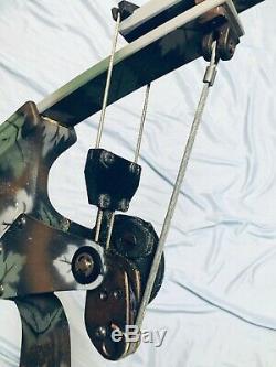 Mint Oneida Aero Force X80 Eagle Bow Rh 30-50-70 Lb 29-33 Long Draw Hunt Fish