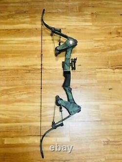 Mint Oneida Eagle X80 Tom Cat Fishing Hunting Bow Left Handed Med 30-50-70 LB