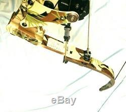 Mint Oneida Lite Force Magnum Eagle Bow Fishing Hunt RH 30-50-70 Long Draw