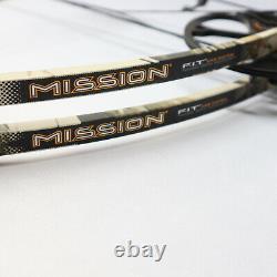 Mission By Mathews Zone OT Compound Bow RH 19-30 DL 65# DW 28 AA Lost Camo Hunt