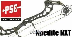 NEW 2021 Pse Expedite NXT RH 70lb BLACK Hunting Bow Xpedite