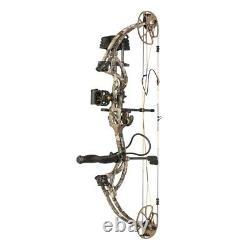 @NEW@ Bear Cruzer G2 RTH Compound Bow Hunting Package! Realtree Edge RH 10-70lb