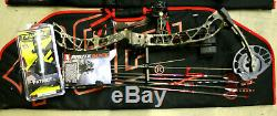 New 2020 PSE Brute Force NXT Bow STRATUS CAMO 70# RH Hunting FULL PACKAGE