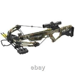 New 2020 PSE Coalition Camo Compound Hunting Crossbow 380FPS
