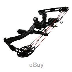 New Archery Hunting Compound Bow Set Right Hand 320 fps Shooting Target 35-70lbs