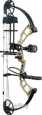 New Bear Cruzer RTH Ready To Hunt Compound Bow 5-70# 12-30 Sand Left Hand