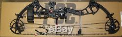 New PSE Brute Force LITE Bow BLACK OPS 70# RH Blackout HUNT READY PACKAGE