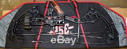 New PSE Brute Force LITE Bow BLACK OPS 70# RH Blackout HUNT READY PACKAGE WithCASE