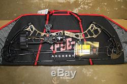 New PSE Brute Force LITE Bow KRYPTEK Camo 70# RH Hunting Ready PACKAGE With CASE