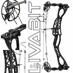 Nightedge Hunting Compound Bow Archery Set Ambidextrous Lightweight 40-60lbs