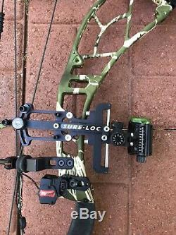 Obsession Evolution 6 with 80# Limbs Ready to Hunt