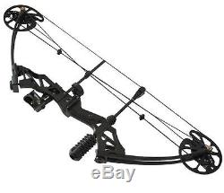 Outdoor 35-70lbs Right Hand Compound Bow Set 320 fps Archery Hunting Target Bow