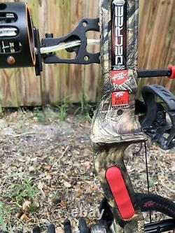 PSE Decree IC 60-70# 355FPS Compound Bow LOADED Archery Hunting Bow