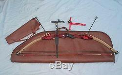 PSE M-17, MagPro Compound Target Competition Bow + 2 sights, Case Accessories EC