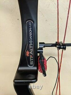 PSE Stealth Carbon Air Archery Bow Compound RH Hunting 50 60# 25 30.5