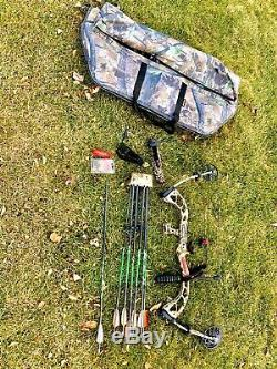 PSE Stinger 3G Full Setup Ready to Hunt Adjustable Draw Length And Weight
