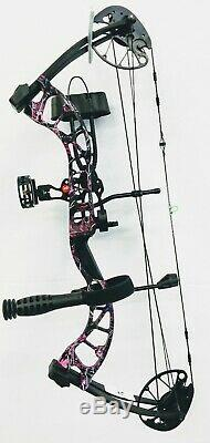 PSE Uprising, Muddy Girl, Right Hand, 12lbs to 70lbs, Ready to Hunt package