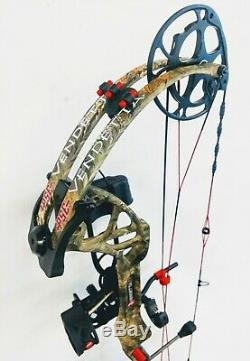 PSE Vendetta VX, Right Hand, 70lbs, Mossy Oak CY, Ready to Hunt package