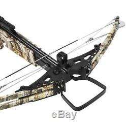 Premium Hunting Crossbow 300fps Archery Compound Bow with Carrying Bag, Camo