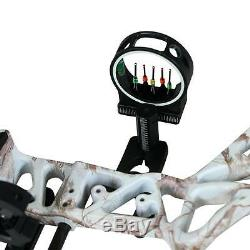 Pro Compound Bow Right Hand Outdoor Hunting Bow Archery Sight Arrows Set 20-70lb