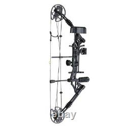 Pro Compound Right Hand Bow Kit Arrow Archery Target Practice Hunting 20-70lbs