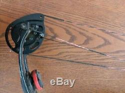 Pse X Force 7 50lb Red Sights Rest Stabilizer Bow Arrows Hunting Camo