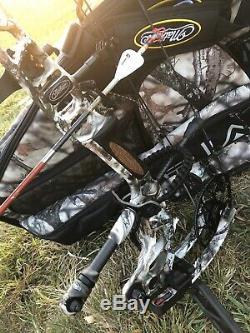 RH Mathews TRIAX 29/70lb Lost Camo Loaded Ready To Hunt
