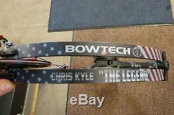 Rare Bowtech Chris Kyle The Legend Compound Bow Rh Un-hunted