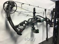 Right Hand Hoyt Carbon Defiant 34 DFX #3cam 29-31 draw 55-65# hunting package 3