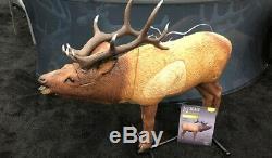 Rinehart 1/3 Scale Woodland Elk Bull 3D Archery Target Hunting Crossbow FX Foam