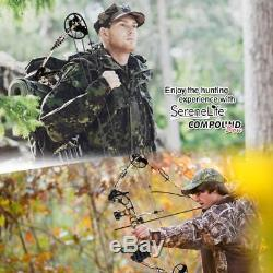 Serene-life Slcomb15st Hunting Compound Bow And Arrow Set