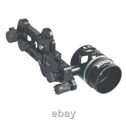Single Pin Bow Sight Archery Micro-Adjust Compound Bow Sight Hunting