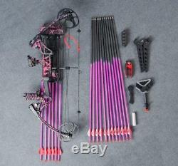 Topoint M1 Compound Bow Muddy Girl Full Set For Target Archery And Hunting