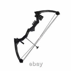 Traditional Compound Bow Black Camo 20lbs Hunting Archery Fishing Outdoor Sports