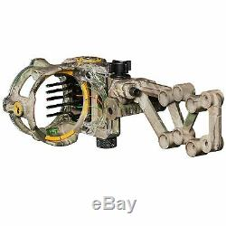 Trophy Ridge React H5 5-Pin Bow Sight Archery Compound Hunting. 019 inch