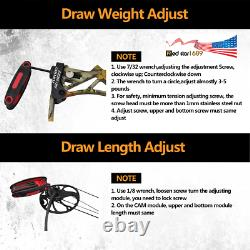 US Hunting Muddy women Compound Bow M1 19-30 Length, 19-70Lb Draw Weight IBO