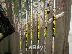 Used PSE Stinger Extreme Package with case, 6 arrows and TruFire Release