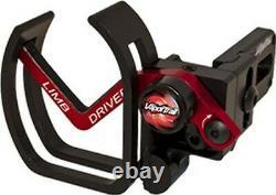 Vapor Trail Archery LDPROTBLKUN Limb Driver Pro V Black Right Hand Arrow Rest