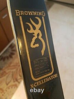 Vintage BROWNING X-Cellerator Compound Hunting Bow Archery