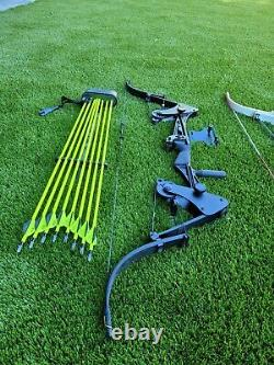 Vintage OneidaScreaming Eagle lever action hunting fishing bows in amazing cond
