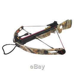 150 Lb Noir / Camouflage Camo Composés Arbalète Chasse D'arc +2 Flèches 180 80 50
