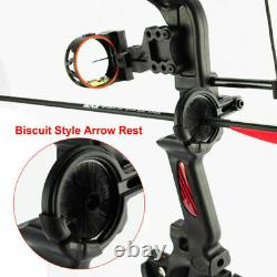 15-29lbs Pro Compound Bow Main Droite Bow Kit Archery Arrow Target Hunting Set Us