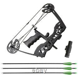 16 Ensemble D'arc Composé 35lbs Archery Flèche Pêche Chasse À Droite Main Gauche Mini