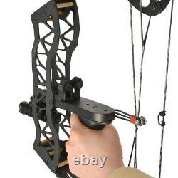 16 Mini Compound Bow Set 35lbs Archery Arrow Bowfishing Hunting Main Gauche Droite
