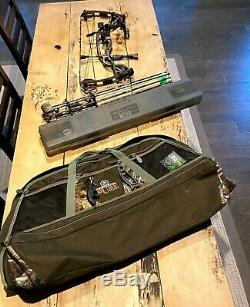 2012 Element Hoyt Carbon 32 Arc De Chasse Avec Des Branches D'arc Et Accessoires