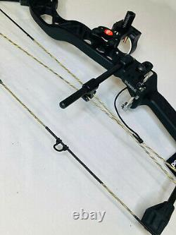 2021 Pse Brute Nxt Bow Black 70# Rh Hunting Bow Package Nouveaux Navires Libres Aujourd'hui