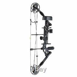 20-70lbs Pro Composé Main Droite Arc Tir À L'arc Chasse Kit Flèche Target Practice