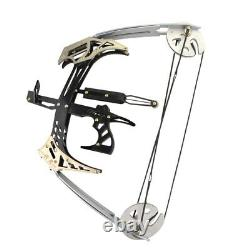 25lbs Pêche Triangle Mini Triangle Composited Bow Kit Flèches Chasse Au Tir À L'arc À La Main Droite