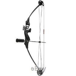 3040lbs Noir Composé Bow Set Chasse Tir À L'arc Chasse Extérieur Main Droite Bow
