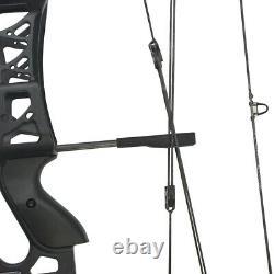 30-60ibs Composé Bow Catapulte À Double Usage Balle En Acier À Gauche À Droite Chasse À La Main M109e